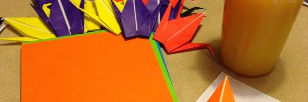 917 Paper Cranes left.