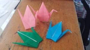 1000 cranes, benny vasquez